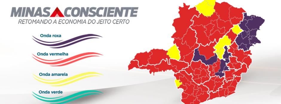 Conselheiro Lafaiete pode avançar para onda vermelha de acordo com o decreto estadual.